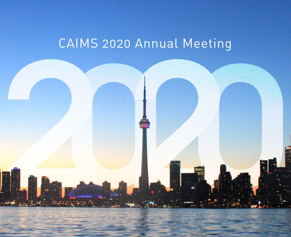 CAIMS Annual Meeting 2020