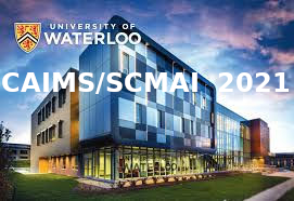 CAIMS/SCMAI 2021 is hosted by the University of Waterloo